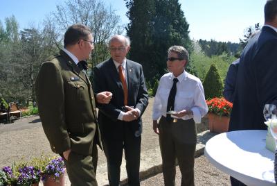 Claude Resch, Louis Schmitz a Liliane Theisen