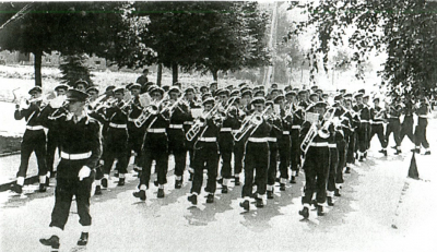 Sgt. Chef Léon Tribou - Bataillouns-Musek 1951 Bitburg