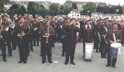 "Encadrement vun der Feier vun der ""Fédération des Victimes du Nazisme Enrôlés de Force"""