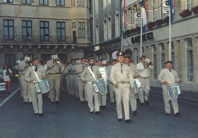 Beim Marsch vum Palais op d´Plëss