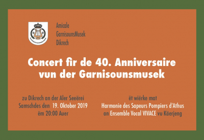 Affiche vum Concert vum Steffi Goerend