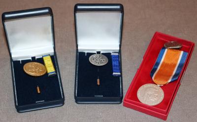 Les médailles distribuées