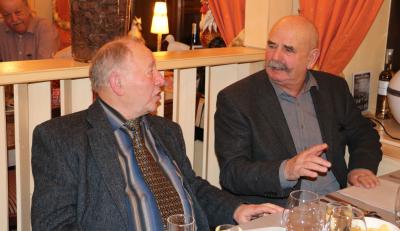 Pierre Langehegermann et Pitt Nussbaum