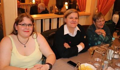 Elly de Dood avec Elke Grün et sa maman