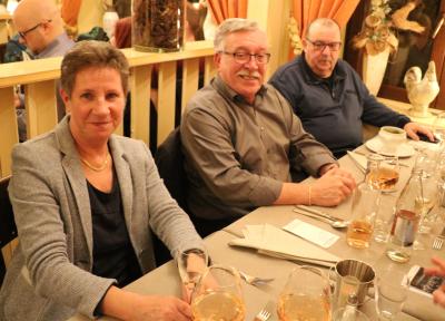 Liliane Theisen, Erny Greiveldinger et John Einsweiler
