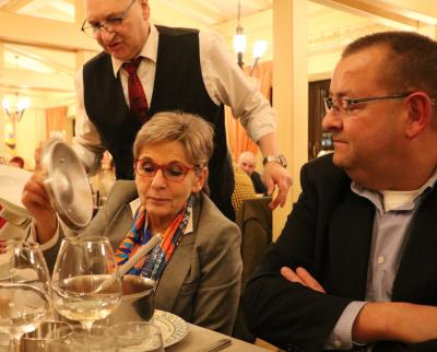 Aline Meyers et Christian Kirpes, Chef adjoint de la Musique Militaire Grand-Ducale